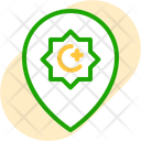 Mosque pin Icon