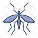 Mosquito Virus Mallaria Icon