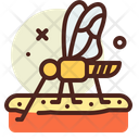 Mosquito Bug Insect Icon