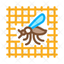 Grid Insect Mosquito Icon