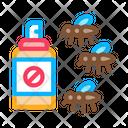 Mosquito Pest Spray Icon