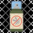 Mosquitoes Spray Trekking Icon