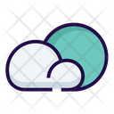 Mostly cloudy Icon