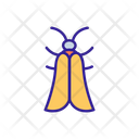 Moth Butterfly Silhouette Icon