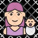 Mother Motherhood Baby Icon