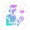 Mother Baby Maternity Icon