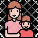 Mother Boy Parents Icon