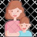 Mother Kid Motherhood Icon