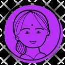 Mother Indian Wedding Icon