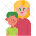 Mother Kid Child Icon