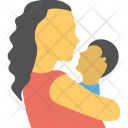 Mother And Son Icon