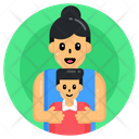 Motherhood Mother And Son Mom And Son Icon