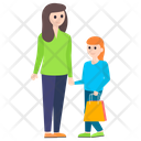 Mother Daughter Motherhood Mother Love Icon