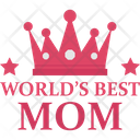 Mother Day Heart Letter Icon