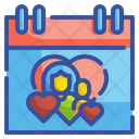 Mother Day Month Date Icon