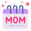 Mother Day Calendar Mom Icon