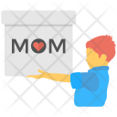 Mother Day Greeting Icon