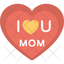 Heart Logo Mom Icon
