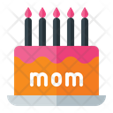 Mother Day Cake Cake Woman Icon