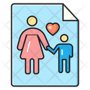 Motherday Card Wish Icon