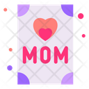 Mother Day Card Greetings Card Greetings Icon
