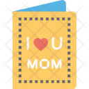Mother Day Card Icon