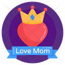 Mother Queen Princess Mom Mother Day Crown Icon