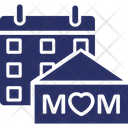 Mother Day Date Calendar Calendar Date Icon