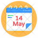 Agenda Mothers Day Calendar Mothers Day Reminder Icon