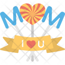Mother Day Decoration Icon
