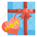 Mother Day Gift Gift Box Package Icon