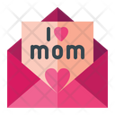 Mother Day Mail Mail Greeting Icon