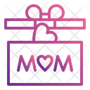 Mother Day Present Icon