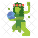 Mother Earth Character Creature Icon