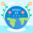 Mother Earth Day Icon