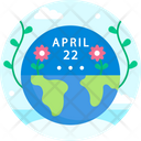 Mother Earth Day Earth Day Earth Icon