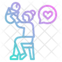 Mother Love Baby Mother Icon