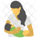 Mother Baby Day Icon