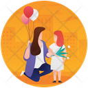 Mother's Day Celebration Icon