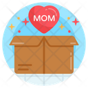 Gift Box Mother Surprise Present Icon