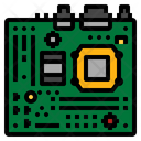 Motherboard Technology Circuit Icon