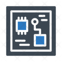 Motherboard Circuit Computer Icon