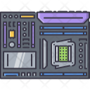 Motherboard Board Data Icon