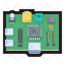 Raspberry Pi Chip Microchip Icon