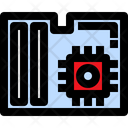 Motherboard Processor Hardware Icon