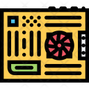Motherboard Computer Data Icon