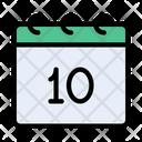 Calendar Date Motherday Icon