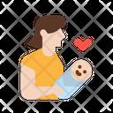 Motherhood Mother Baby Icon