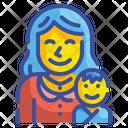 Motherhood Pregnant Woman Icon
