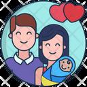Motherhood Parents Love Parents Icon